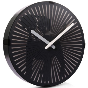 Dog Wall Clock with Wagging Tail for Kids