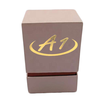 Pink Luxury Custom Design Candle Gift Box Packaging