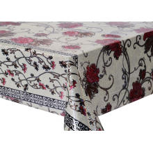 3D Laser Coating Tablecloth Flannel Backed