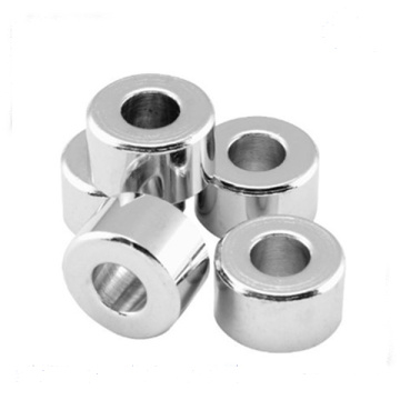Custom Chrome Plated Steel Spacer Nuts