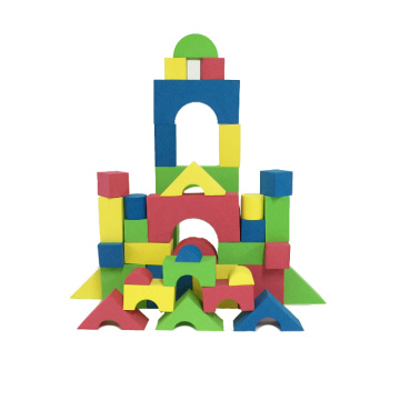 Colorful EVA Foam Building Block Soft Toy Gift