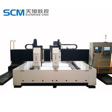 CNC Steel Plate Drilling Machine with Milling Function