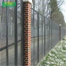 hot dip galvanized then powder coating in green or black color fence