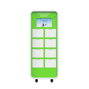 Community 15 way shared charging cabinet solution