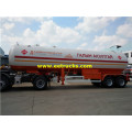 38cbm 15ton LPG Transportation Semi Trailers