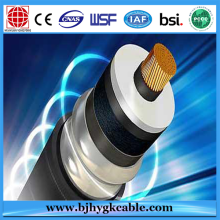 Factory Free sample for Buy 500kv XLPE Cable, 230kv XLPE Cable, 750v Cable, 132kv Cable, 110kv Cable, Aluminium Armoured Cable from China 66KV 1*240sqmm Copper XLPE Corrugated Aluminum Sheath Cable export to Ethiopia Supplier