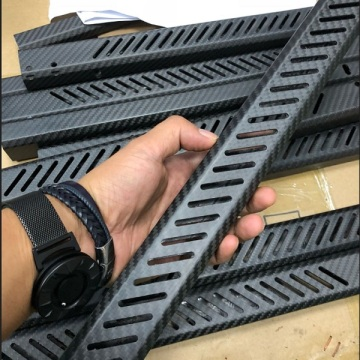 Carbon fiber tubes countersunk cutting according to drawing