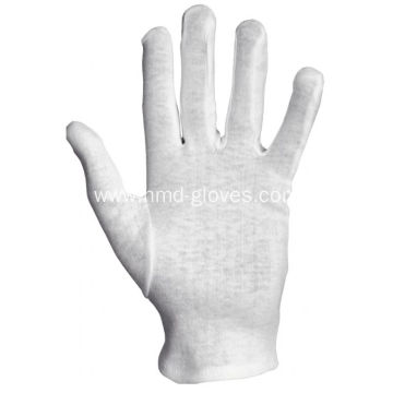 Parade White Cotton Gloves