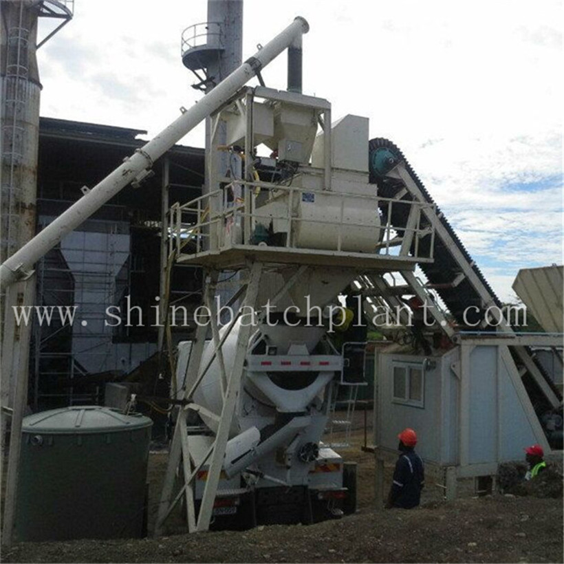 25 Construction Portable Cement Batch Plant