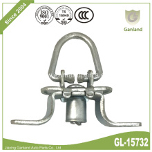 Trailer Lashing Ring Zinc Plated Folding Locking Ring