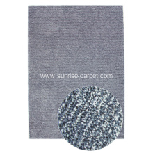 Tabel Tufted Microfiber with Viscose short pile carpet