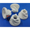 spiral helix alumina ceramic plunger machining parts