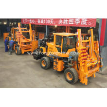 Massive Selection for China Pile Driver With Screw Air-Compressor,Guardrail Driver Extracting Machine,Highway Guardrail Maintain Machine Manufacturer Multifunctional Pile Driver for Post Mounting supply to Chad Manufacturers