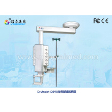 Mechanical single arm anesthetic medical pendant