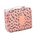 Custom Pattern Printed Premium Good Quality Oxford Waxed Toiletry Wash Bag