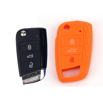 Colorful Custom car key cover for VW