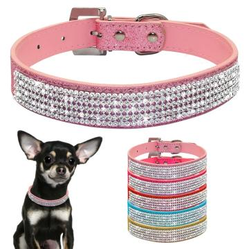 PU Leather Cat Dog Collars