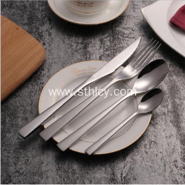 Wholesale Western Stainless Steel Cutlery Spoon