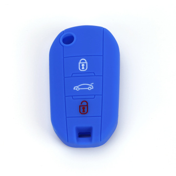 Peugeot Car Accessory Shell mbrojtës silikoni Car Key