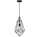 Iron Geometric Hanging Modern Iron Pendant Lamp