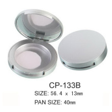 Plastic Round Cosmetic Compact Packaging
