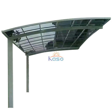 Modern Single Slope Carport Cantilever Aluminum Carport