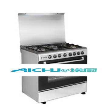 5 Burners Free Standing Electric Gas Oven