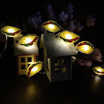 holiday lights led fairy light with Mexican roll