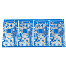 Security industry blue color printed circuit board