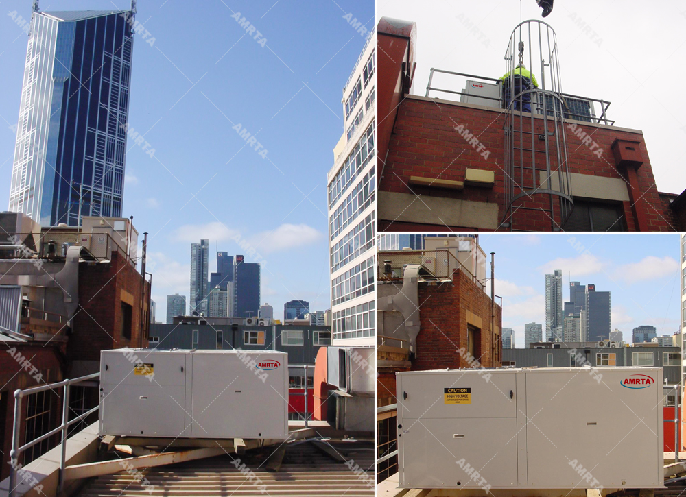 Free Cooling Rooftop Packaged Aircon