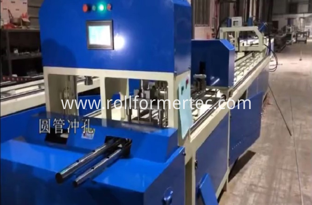 rectangular tube punching machine