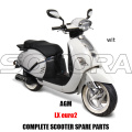 AGM LX SCOOTER BODY KIT ENGINE PARTS COMPLETE SCOOTER SPARE PARTS ORIGINAL SPARE PARTS