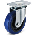 The Elastic Rubber Small Flat Bottom Movable Casters