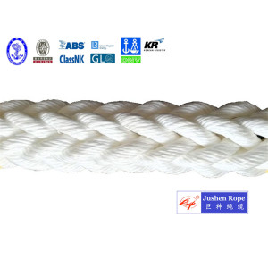 Reliable Supplier for White Polypropylene Rope 12-Strand Polypropylene Monofilament Rope supply to Tanzania Exporter