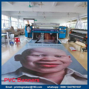 Custom Personalized Outdoor Printed PVC Advertising Banners