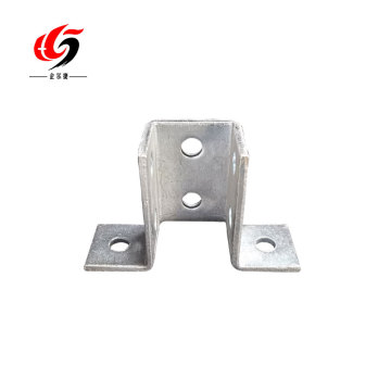 high quality galvanized channel base