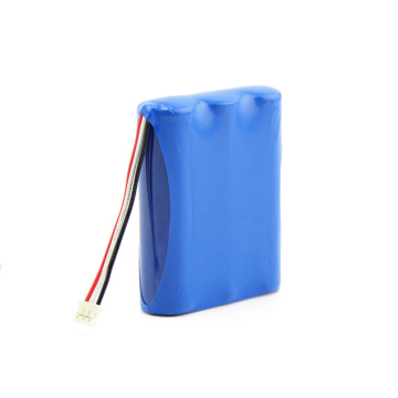 rechargeable 18650 lithium ion battery pack 3.7V 6600mAh