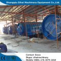 10 tons waste tire pyrolysis plant by Sihai