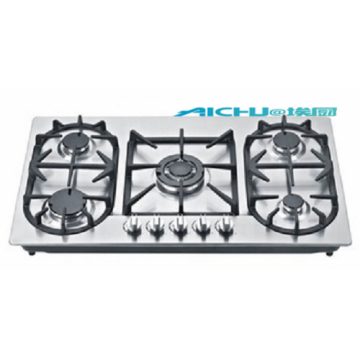 5 Burners New Design Built-In Gas Hob