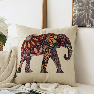 Animal Series Cotton Linen Pillow Cases