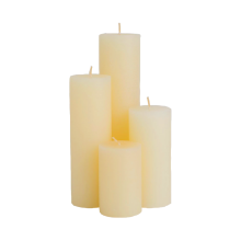 China Manufacturers for Cylinder Candle For Party Use Wholesale White Pillar Candles for home decoration supply to Portugal Suppliers