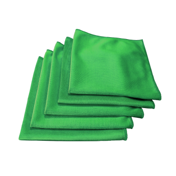 microfiber cloth glass towel for polishing cars