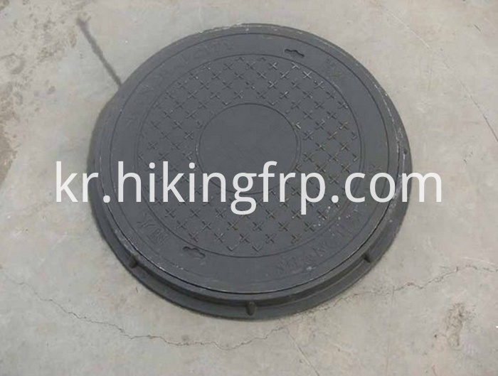 A15 B125 Fiberglass SMC Manhole Cover With EN124