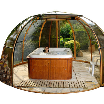 Escape Cover Outdoor Hot Tub And Spa Enclosure
