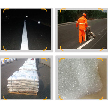 Road Traffic Paints Reflective Glass Beads