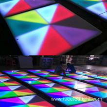 DMX512 rgb interactive dmx led dance floor