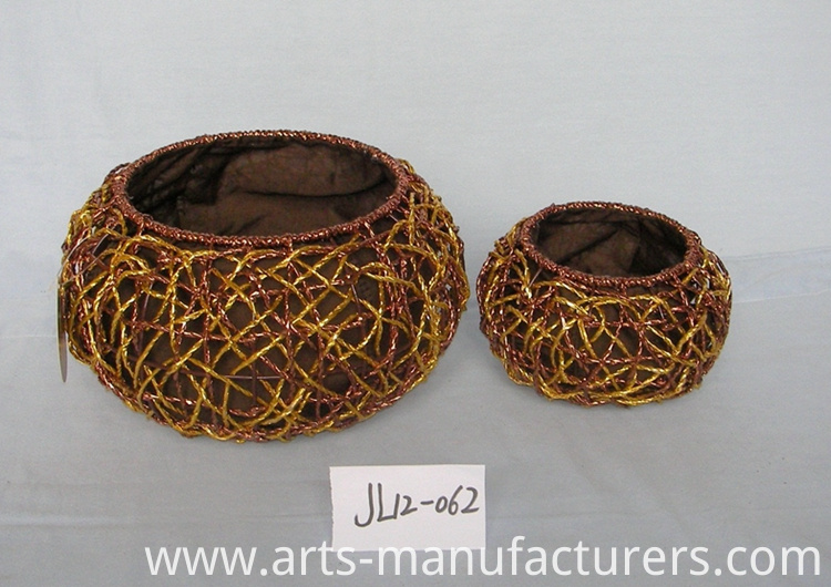 paper rope basket