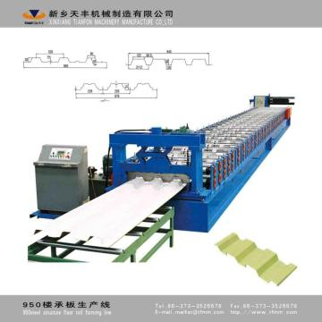 TF Steel Structure Floor Roll Forming Machine