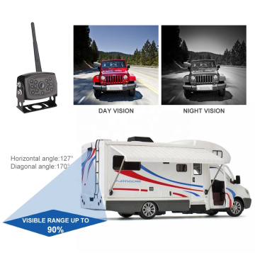 Night Vision Waterproof and Shockproof  Wi-Fi Rear View Camera for  iPhone iPad Android Phone Tablet