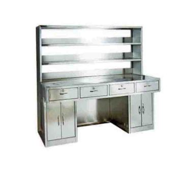 Stainless steel workbench for hospital